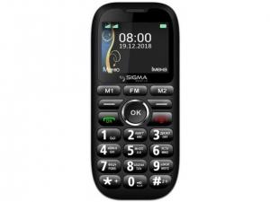 Мобільний телефон Sigma Comfort 50 Grand Black
