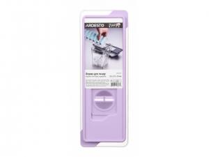 Форма для льоду Ardesto Fresh Stick з кришкою, рожевий, силікон, пластик