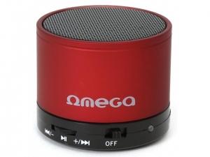 Портативна колонка OMEGA Bluetooth OG47R червоний