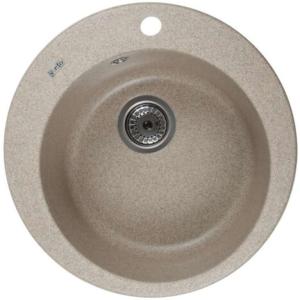Кухонні мийки FABIA (BROWN SAND) D500x200