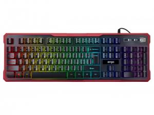 Клавіатура провідна ERGO KB-670 ENG/RUS/UKR Чорний