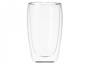 Набір чашок Ardesto з подвійними стінками, 450 мл, H 14,5 см, 2 од., (AR2645G)