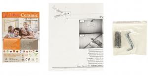 Обігрівач керамічний Теплокерамік TCH-500-WHITE nalichie