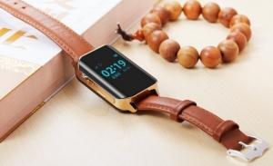 Смарт годинник GOGPS М01 золотий nalichie