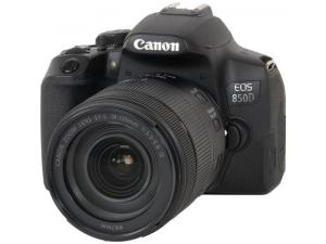 Цифр. фотокамера дзеркальна Canon EOS 850D kit 18-135 IS nano USM Black
