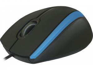 Мишка провідна DEFENDER (52344)#1 MM-340 чорний+синій