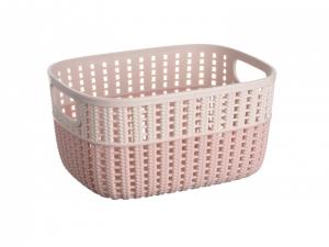 Корзинка плетена Ardesto Sweet Home AR1730BP, 3л, рожевий