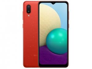 Смартфон Samsung Galaxy A02 (A022G) 2/32GB Red (SM-A022GZRBSEK)