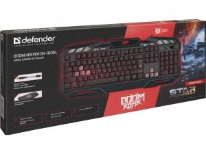 Клавіатура провідна DEFENDER Doom Keeper GK-100DL nalichie