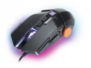 Мишка провідна Ergo NL-780 USB Чорний