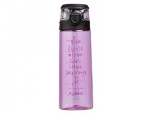 Пляшка для води Ardesto Big things 700 мл, рожева, (AR2206PR)