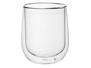 Набір чашок Ardesto з подвійними стінками, 360 мл, H 10,5 см, 2 од. (AR2636G)