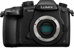 Цифрова камера Panasonic DC-GH5 Body (DC-GH5EE-K)