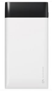 УПБ DA DT0002BK 10000mAh Li-pol 2USB 2.1A LCD White