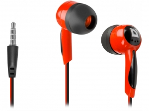 Навушники DEFENDER (63605)Basic-604 black-red