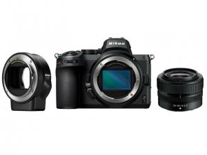 Цифрова камера Nikon Z5 + 24-50mm F4-6.3 + FTZ Adapter Kit