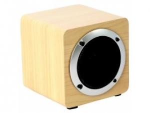 Портативна колонка OMEGA Bluetooth OG61W Wooden 5W коричневий