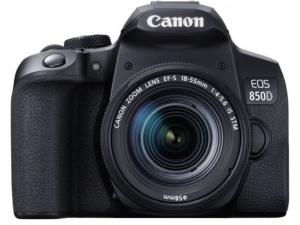 Цифр. фотокамера дзеркальна Canon EOS 850D kit 18-55 IS STM Black