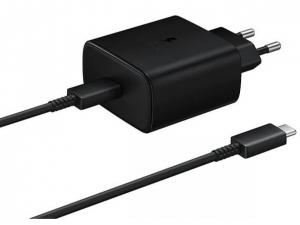 Зарядний пристрій SAMSUNG EP-TA845XBEGRU 45W SFC2.0 Type-C (Чорний)