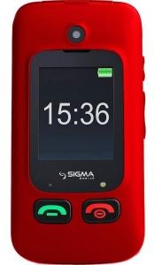 Мобільний телефон Sigma Comfort 50 Shell DS Black-Red