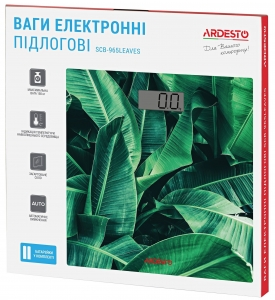 Ваги підлогові Ardesto SCB-965LEAVES nalichie