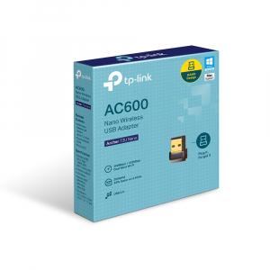 Адаптер TP-Link Archer T2U 802.11ac, 2.4/5 ГГц, AC600, USB 2.0 nalichie