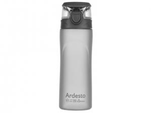 Пляшка для води Ardesto 600 мл, сіра, (AR2205PGY)