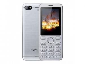 Мобільний телефон Nomi i2411 Silver