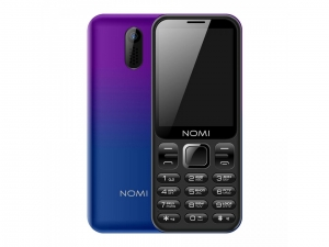 Мобільний телефон Nomi i284 Violet-Blue