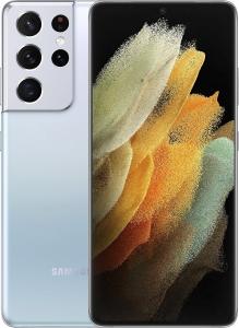 Смартфон Samsung Galaxy S21 Ultra 5G (G998B) 12/128GB Silver (SM-G998BZSDSEK)
