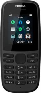 Мобільний телефон Nokia 105 TA-1203 SS Black