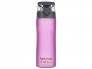 Пляшка для води Ardesto 600 мл (AR2205PR) рожева
