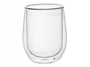 Набір чашок Ardesto з подвійними стінками, 320 мл, H 11 см, 2 од., (AR2637G)