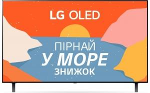 Телевізор LG OLED48A16LA 4К Smart