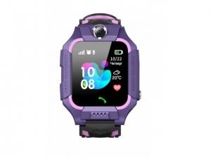 Смарт годинник GOGPS ME K24 Пурпурні