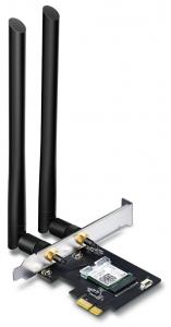 Адаптер TP-Link Archer T4E AC1200, PCI Express, Beamforming