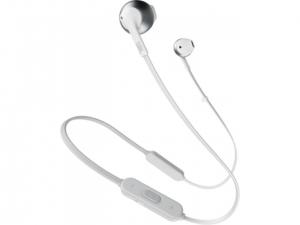 Навушники безпровідні JBL T205BT (JBLT205BTSIL) Silver