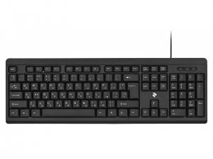 Клавіатура провідна 2E KS108 USB Black