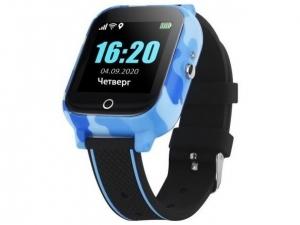 Смарт годинник з GPS трекером GOGPS T01 сині