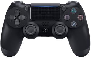 Геймпад безпровідний Sony PlayStation DualShock 4 v2 Jet Black (9870357)