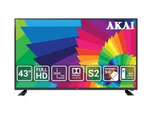 Телевізор Akai UA43LEP1UHD9+Bluetooth Voice Remote Control