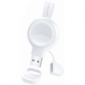 Зарядний пристрій iндукційний USAMS AppleWatch CC61WH02 бiл