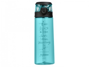 Пляшка для води Ardesto Big things 700 мл, голуба, (AR2206PB)