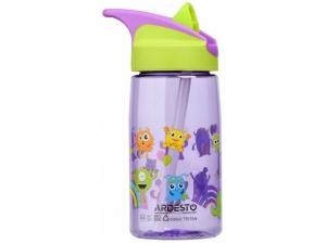 Пляшка для води Ardesto Luna kids дитяча 500 мл, зелена, (AR2201TM)