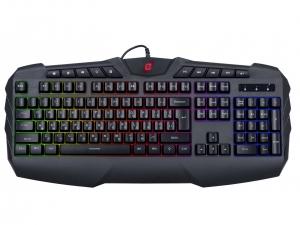 Клавіатура провідна ERGO KB-810 ENG/RUS/UKR Чорний