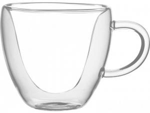 Набір чашок Ardesto з подвійними стінками, 300 мл, H 7,5 см, 2 од., (AR2630GH)
