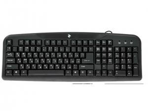 Клавіатура провідна 2Е KS 101 USB Black