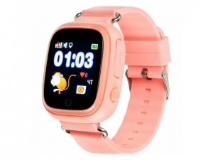 Смарт годинник для дітей Gelius Pro GP-PK003 GPS Pink