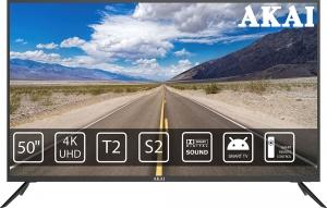 Телевізор LED AKAI UA50LEP1UHD9M+Bluetooth Voice Remote Control