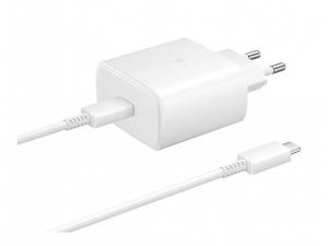 Зарядний пристрій SAMSUNG EP-TA845XWEGRU 45W SFC2.0 Type-C (Білий)